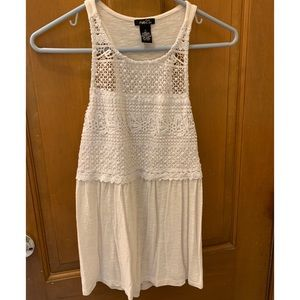 Off White Rue 21 Half Detailed Tank Top